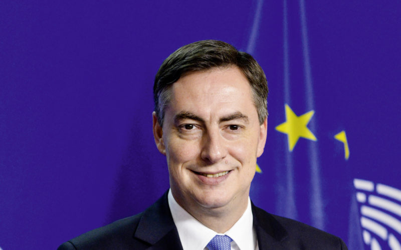 David McALLISTER MEP in the EP in Brussels